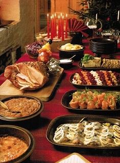 Finn Christmas Food
