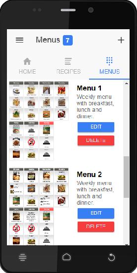 Soon - mobile version of EasyMenu